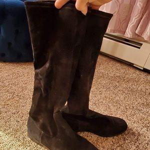 Cole Haan below knee boots size 10